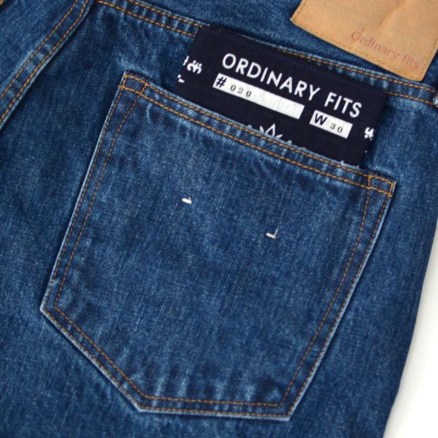ordinary fits [オーディナリー フィッツ] 5POCKET ANKLE DENIM KODAMA [OM-P020] デニムクロップドパンツ/ ユーズド /  MEN\'S/LADY\'S _f0051306_17384858.jpg