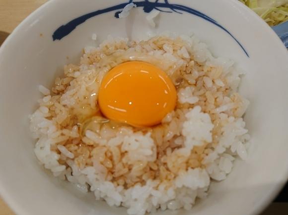 1/31 選べる小鉢の玉子かけごはんミニ牛皿ライスミニ、生野菜サラダ @松屋_b0042308_06421389.jpg