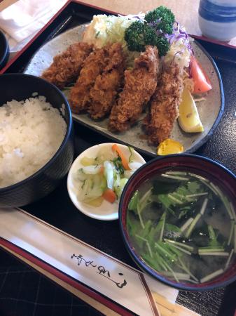 カキフライ定食_d0235108_21403629.jpg