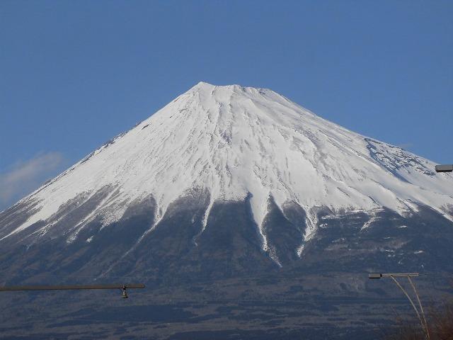 前日に続き晴天・雪化粧の富士山_f0141310_07464880.jpg