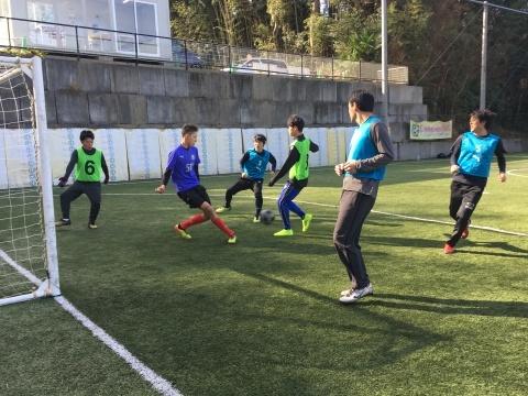 ゆるUNO 1/19(日) at UNOフットボールファーム_a0059812_02090152.jpg