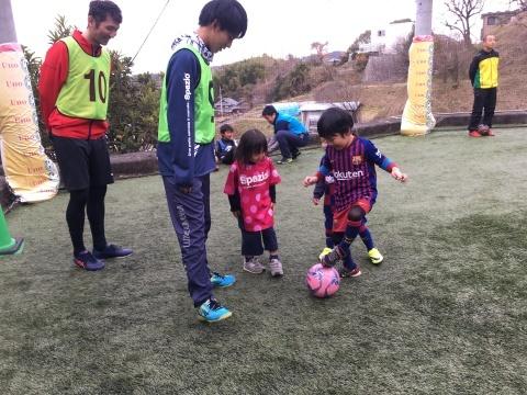 ゆるUNO 1/26(日) at UNOフットボールファーム_a0059812_17524411.jpg