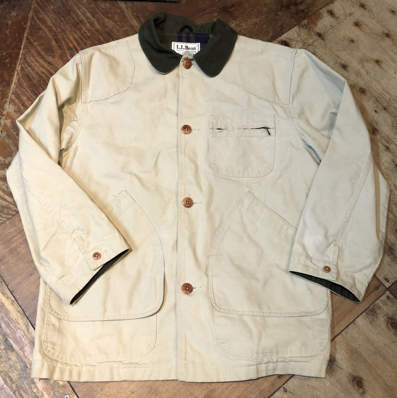 2月1日(土)入荷!80s  MADE IN U.S.A L.L Bean Hunting Jacket !_c0144020_13164491.jpg