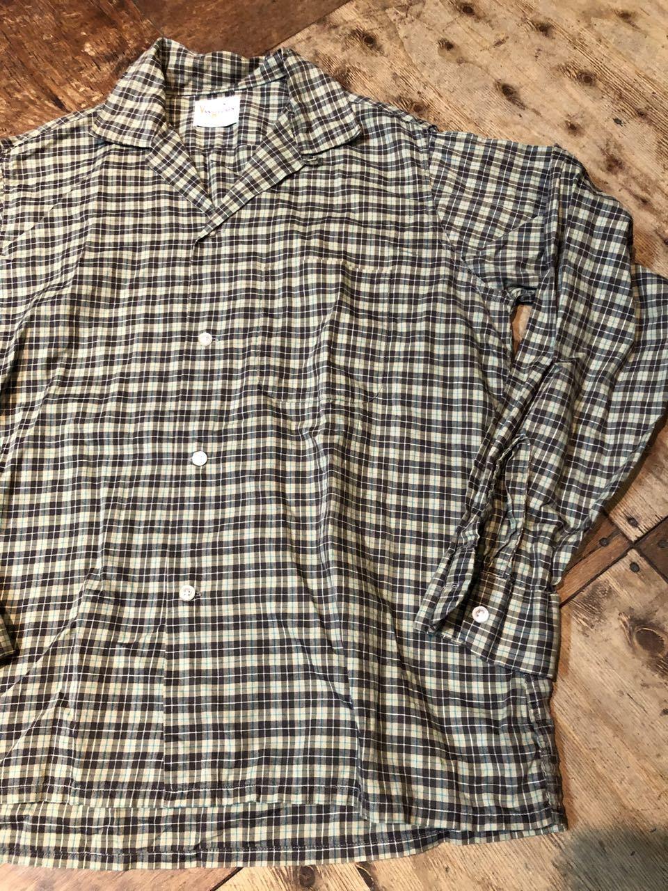 2月1日(土)入荷!60s!VAN HEUSEN  vintage all cotton オープンカラーシャツ! _c0144020_13193697.jpg