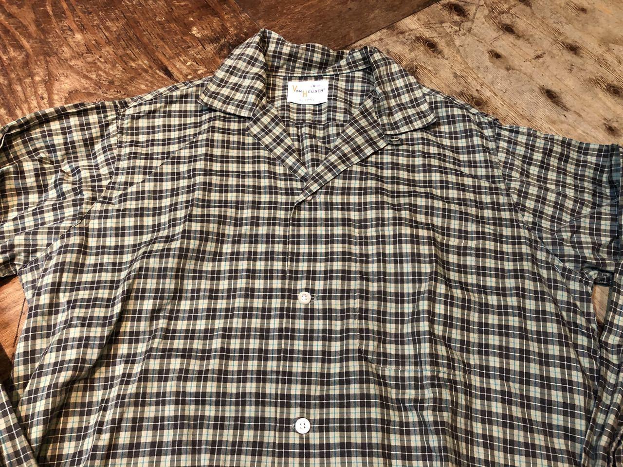 2月1日(土)入荷!60s!VAN HEUSEN  vintage all cotton オープンカラーシャツ! _c0144020_13193804.jpg