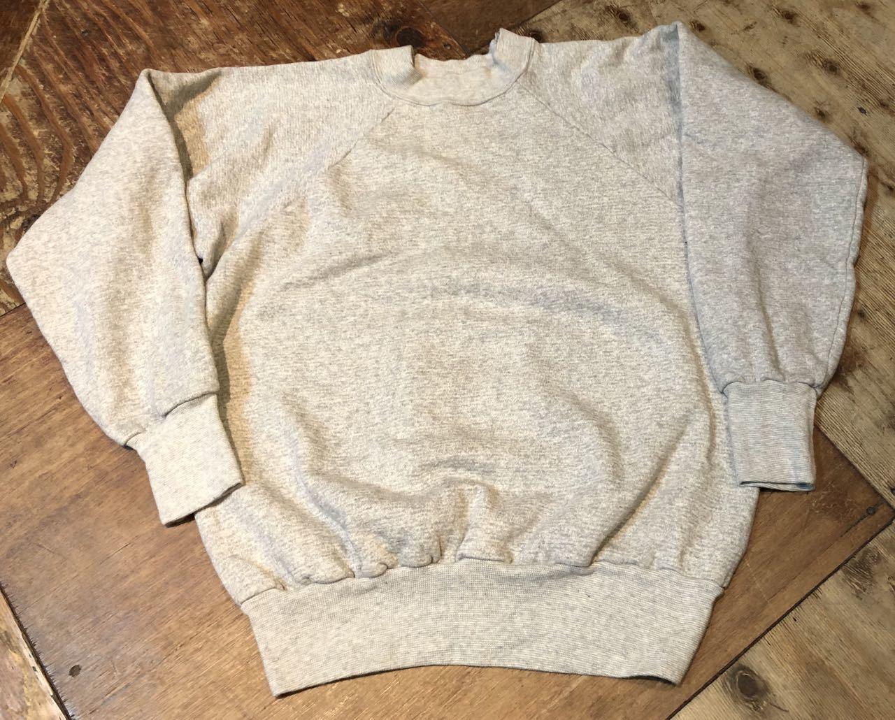 2月1日(土)入荷!ほぼデッドストック!60s〜  93%coton 7% acylic スエットシャツ! _c0144020_13230455.jpg