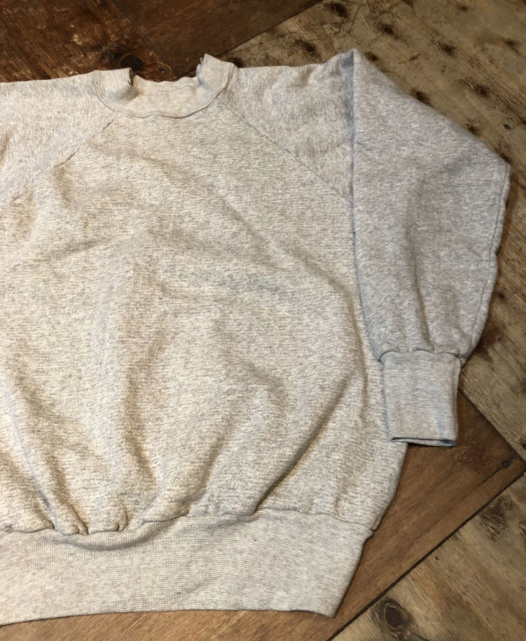 2月1日(土)入荷!ほぼデッドストック!60s〜  93%coton 7% acylic スエットシャツ! _c0144020_13230660.jpg
