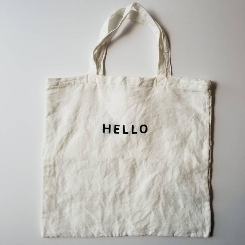 R&D.M.Co刺繍シリーズ リネンtote bag_f0120026_17103568.jpg