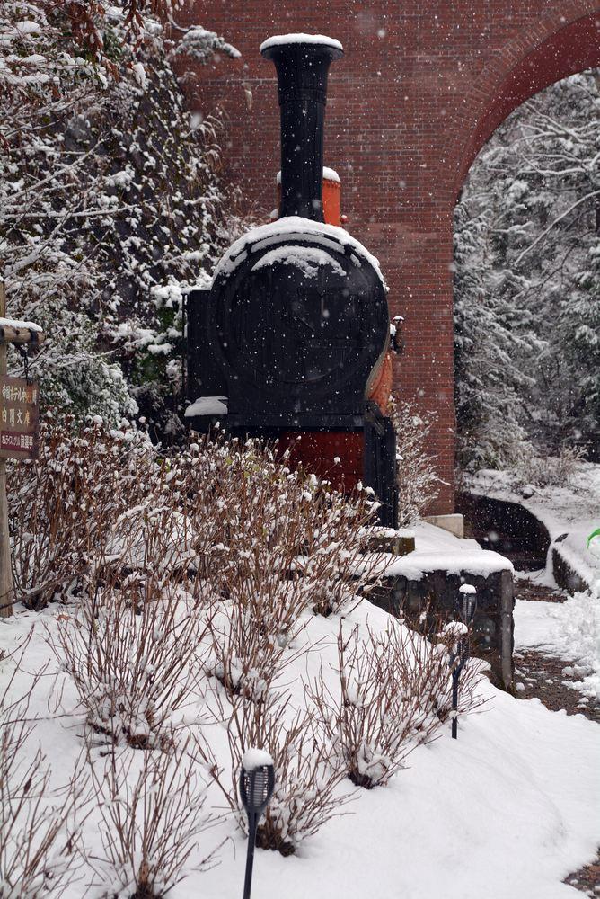 雪景色 2018年末 12号機関車ボイラ_e0373930_19454784.jpg