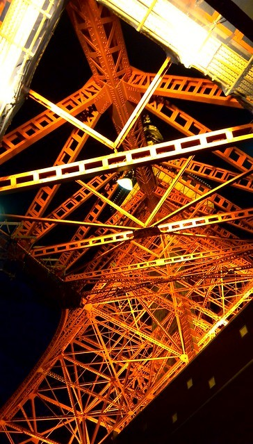 夜の東京タワーを下から撮影。「STREAM X」レビュー_c0060143_13571083.jpg