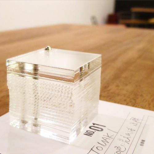 ものづくりのバトルロワイヤル「Cube Étude」参戦_c0060143_15525688.jpg