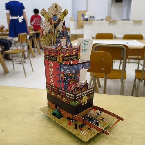 アキバ神田祭3331電子工作立版古なワークショップ_c0060143_19112930.jpg