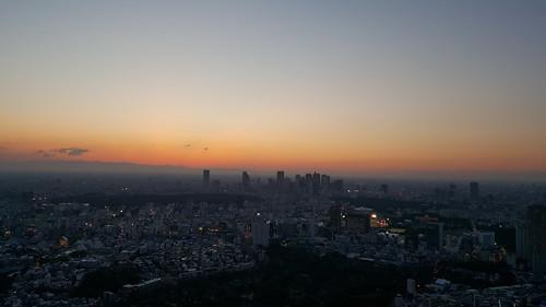 六本木から見る夕焼けの景色など #Galaxyアンバサダー_c0060143_19375811.jpg