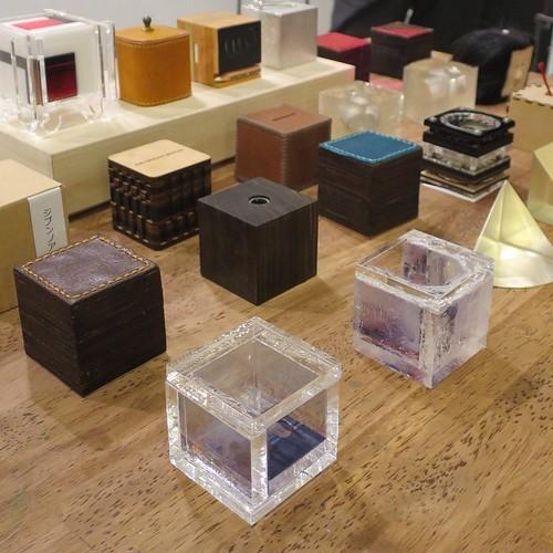Cube Étude vol.4 で発表された5cmキューブ作品達_c0060143_19545194.jpg