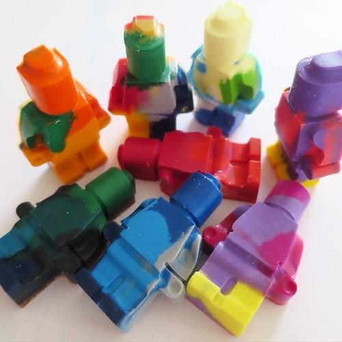 マーブルクレヨン、レゴのシリコン型で作ってみたよ_c0060143_21094539.jpg
