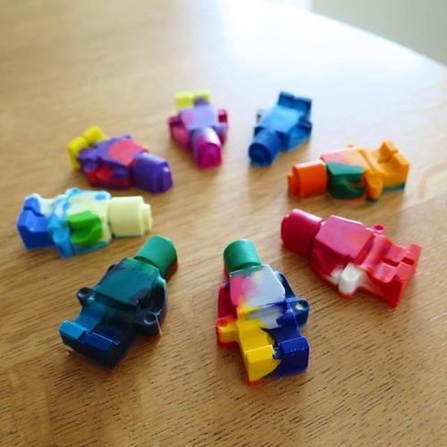 マーブルクレヨン、レゴのシリコン型で作ってみたよ_c0060143_21095195.jpg
