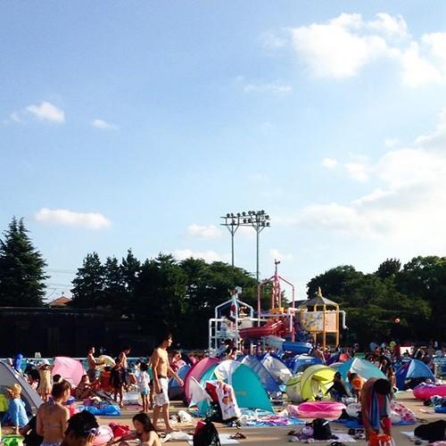夏休みだから、としまえん_c0060143_22141172.jpg