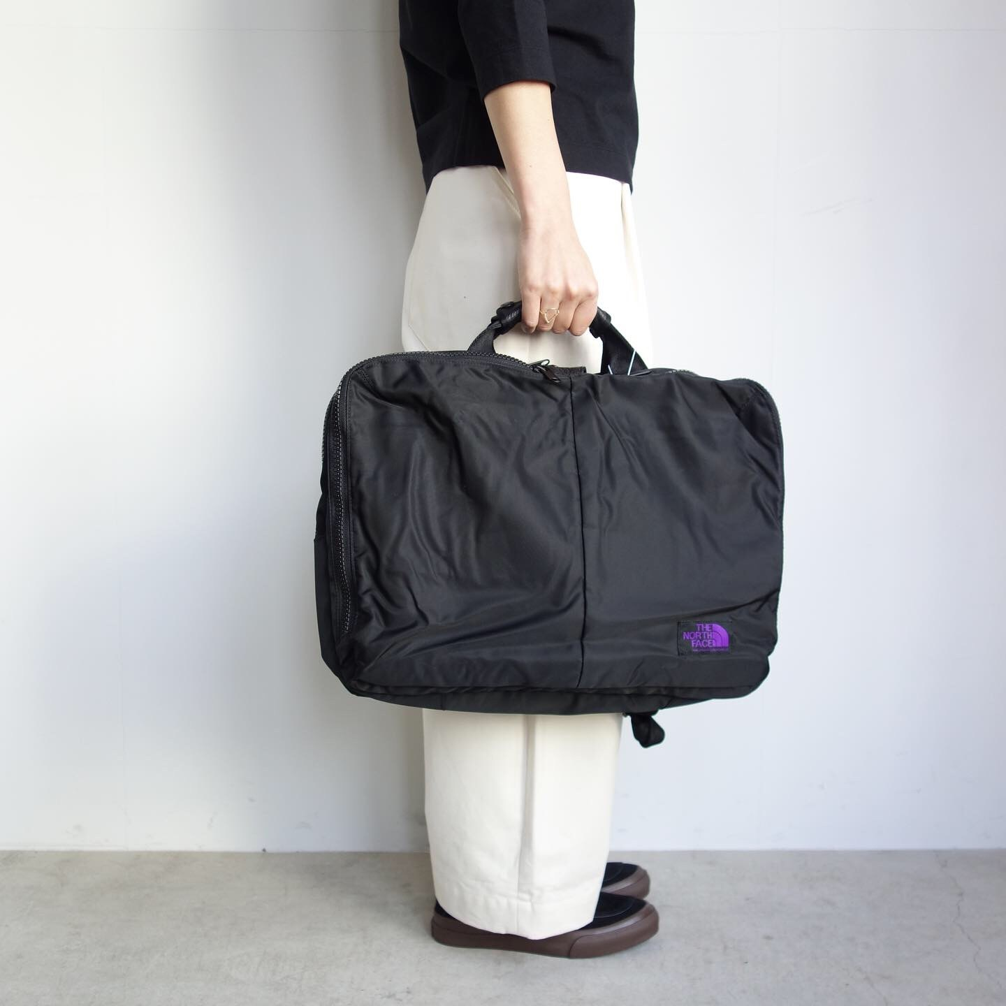 THE NORTH FACE PURPLE LABEL : LIMONTA Nylon 3way Bag_a0234452_16022637.jpg
