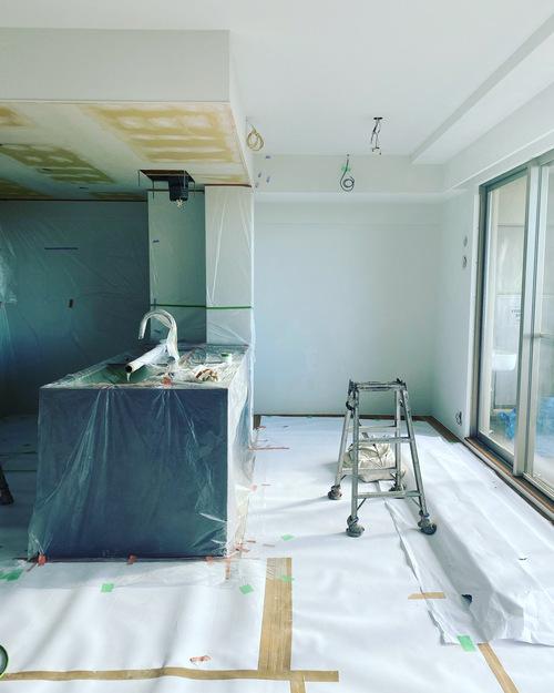 N様邸マンションリノベーションその5 塗装工事_c0180474_0204576.jpg
