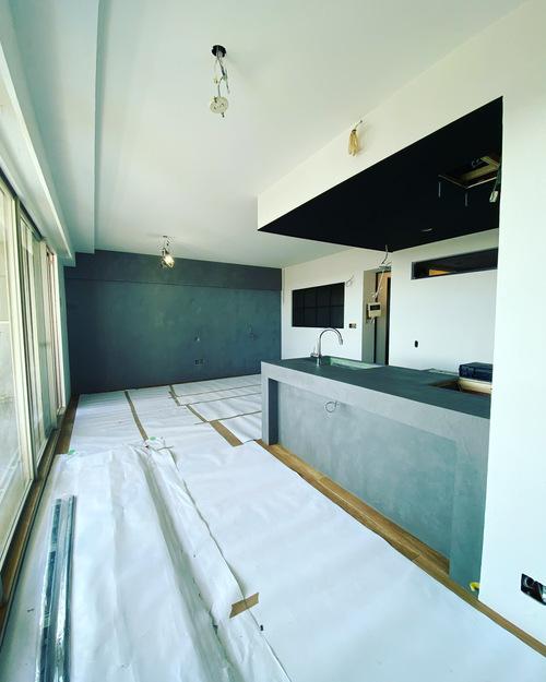 N様邸マンションリノベーションその5 塗装工事_c0180474_0243678.jpg