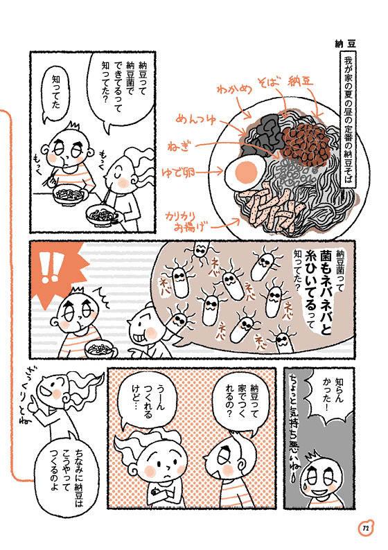 【ゆる菌活12】納豆(前編)_c0216405_07515423.jpg