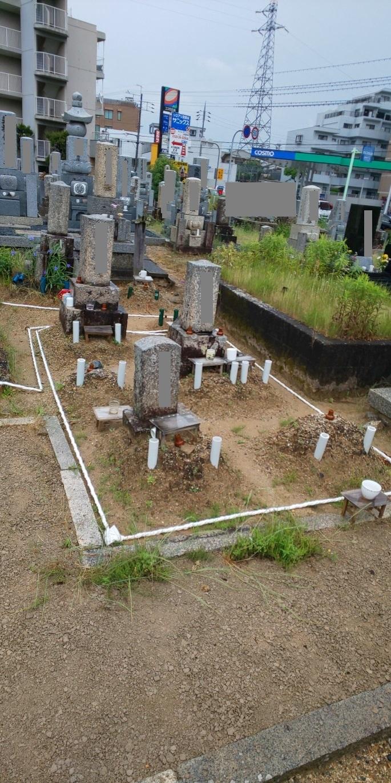 お墓の直し 大津 瀬田 石材店 _e0255523_16284097.jpg
