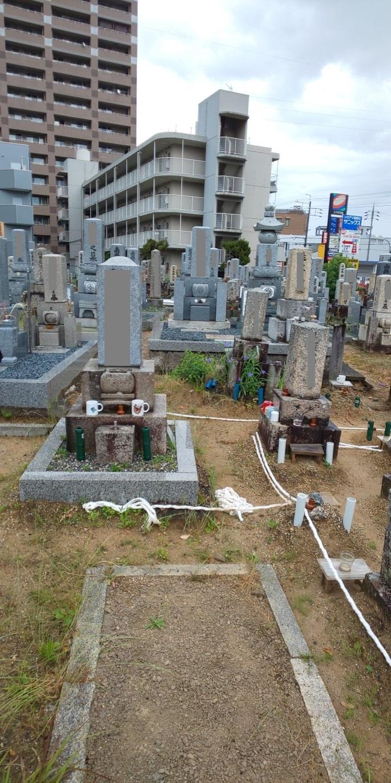お墓の直し 大津 瀬田 石材店 _e0255523_16290216.jpg
