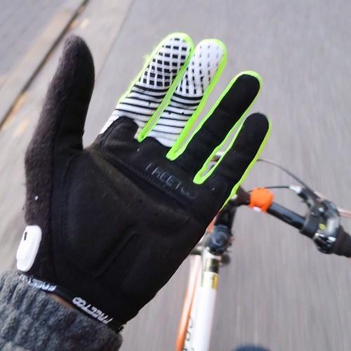 【AD】自転車用の手袋なんて学生時代以来! 嬉しくて自転車乗り回してたらなんか知らない街に来た_c0060143_20452889.jpg