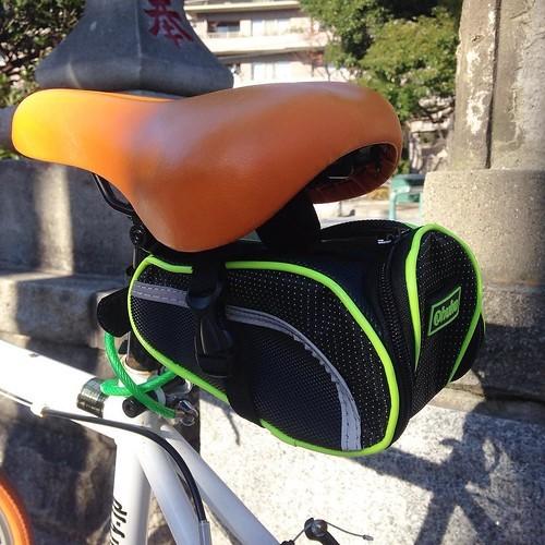 【AD】Ohuhu製 自転車用のサドルバッグとスマホポーチ_c0060143_21095992.jpg