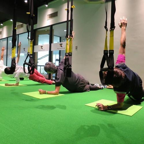 【PR】 みんなでやるから楽しい、「タイカンズ」の体幹トレーニング_c0060143_21123552.jpg