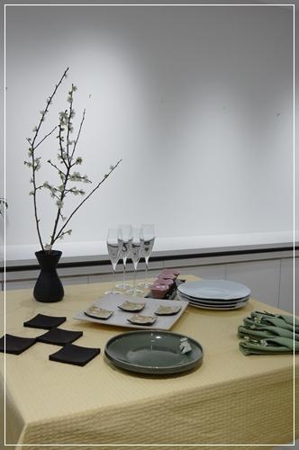ビュッフェスタイルのパーティーテーブル   ~基本クラス _d0217944_20095593.jpg