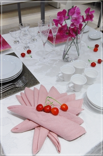 ビュッフェスタイルのパーティーテーブル   ~基本クラス _d0217944_20100651.jpg