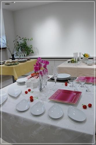 ビュッフェスタイルのパーティーテーブル   ~基本クラス _d0217944_20113751.jpg