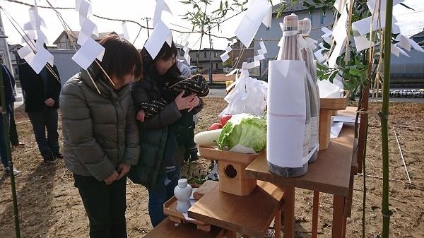 地鎮祭の模様-東海村_a0299347_11362905.jpg
