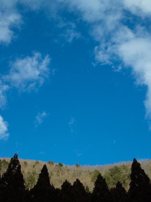 雪、二月も「逃げ月」に・・・椋川と武奈ヶ岳の雪景色_d0005250_1741219.jpg