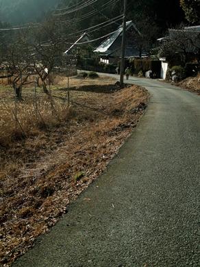 雪、二月も「逃げ月」に・・・椋川と武奈ヶ岳の雪景色_d0005250_1744746.jpg