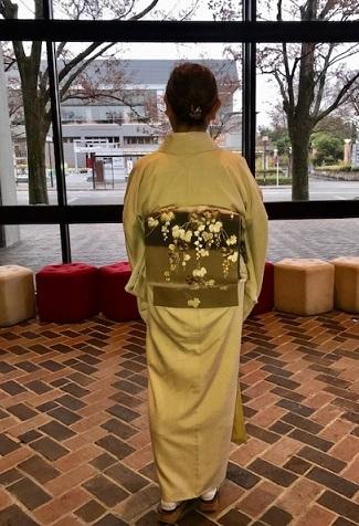 野田さんコンサート最終・唐織の帯・きもの鶴「新年会」_f0181251_17520638.jpg
