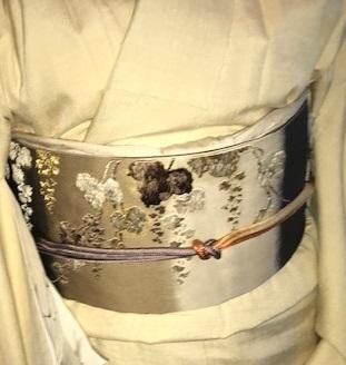野田さんコンサート最終・唐織の帯・きもの鶴「新年会」_f0181251_17534130.jpg