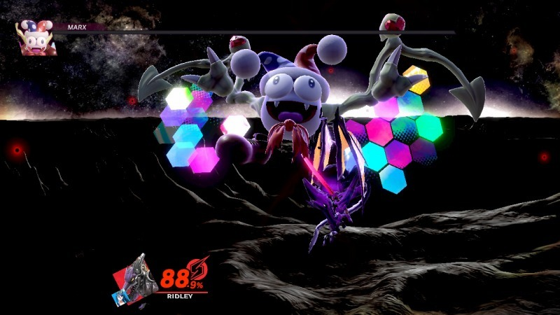 ゲーム「大乱闘スマッシュブラザーズ SPECIAL可愛い子探す旅(闇の世界編 その2」_b0362459_23173540.jpg