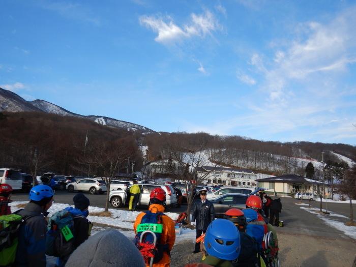 山岳遭難防止対策協議会冬山訓練 ~ 2020年1月26日_f0170180_00450205.jpg