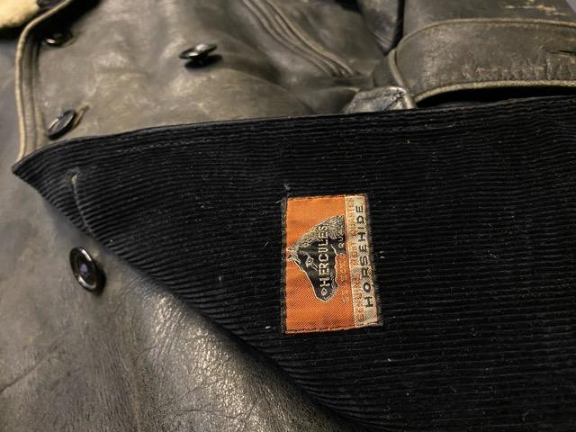 """2月5日(水)マグネッツ大阪店ヴィンテージ入荷!!#1 Leather編! 30\'s\""""HERCULES\""""Horsehide & 40\'s\""""GUIDE MASTER WOLF\""""Horsehide!!_c0078587_0201974.jpg"""