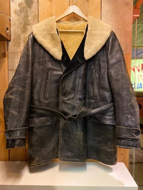 """2月5日(水)マグネッツ大阪店ヴィンテージ入荷!!#1 Leather編! 30\'s\""""HERCULES\""""Horsehide & 40\'s\""""GUIDE MASTER WOLF\""""Horsehide!!_c0078587_0203618.jpg"""