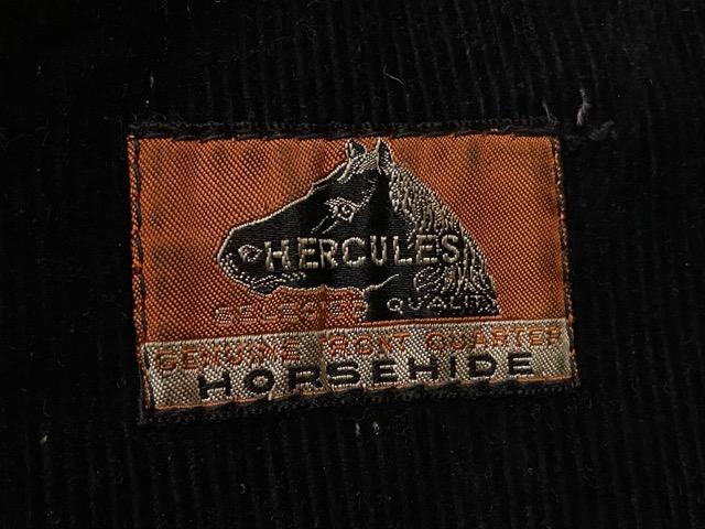 """2月5日(水)マグネッツ大阪店ヴィンテージ入荷!!#1 Leather編! 30\'s\""""HERCULES\""""Horsehide & 40\'s\""""GUIDE MASTER WOLF\""""Horsehide!!_c0078587_0212472.jpg"""