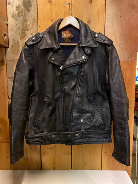 """2月5日(水)マグネッツ大阪店ヴィンテージ入荷!!#1 Leather編! 30\'s\""""HERCULES\""""Horsehide & 40\'s\""""GUIDE MASTER WOLF\""""Horsehide!!_c0078587_02654100.jpg"""