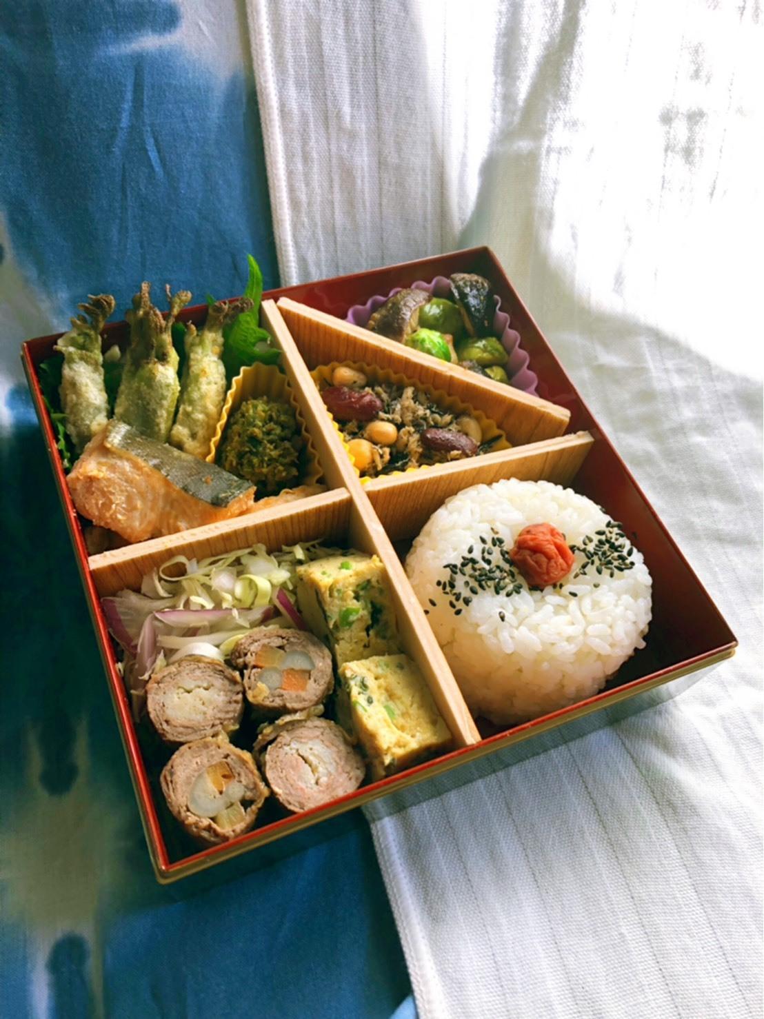 Saturday Lunch box & Fashion Show_b0376788_14515081.jpg