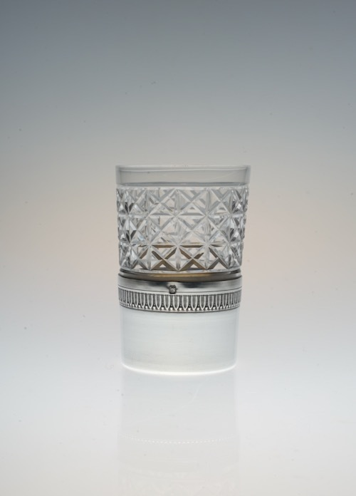 Shot Glass With French Silver Holder 1_c0108595_23321749.jpeg