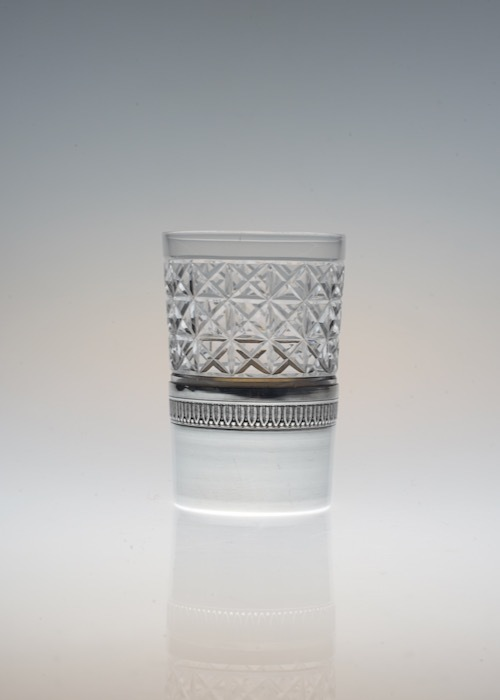 Shot Glass With French Silver Holder 1_c0108595_23321940.jpeg