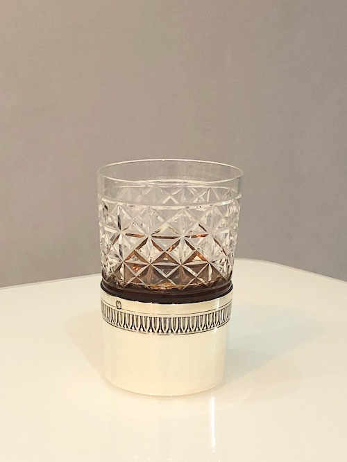 Shot Glass With French Silver Holder 1_c0108595_23322948.jpeg