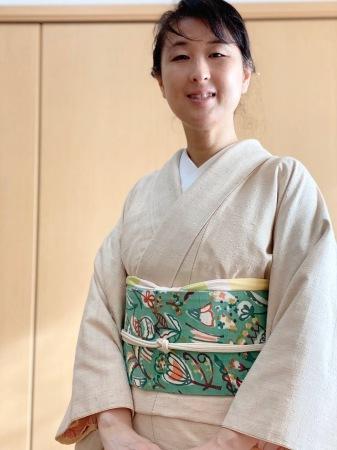飯田紬と金柑狩り_f0176305_20302055.jpeg