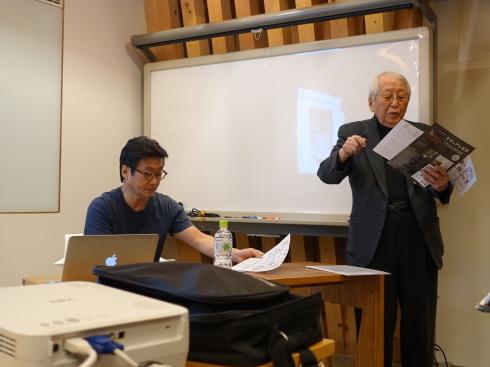 【講演レポート】 坂本茂氏 『Yチェアのペーパーコード張り実演を通して、Yチェアを知る』_b0149621_18115516.jpg